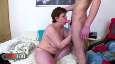 Preview 4 of Granny Gets Assfucked By A Cock