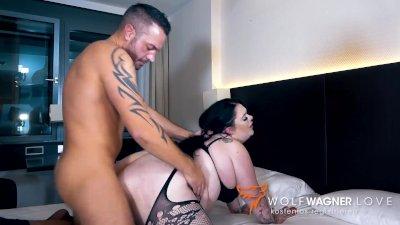 Curvy German Lady FUCKS Blind Date in Hotel! WOLF WAGNER wolfwagner.love