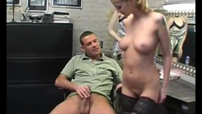 Preview 5 of Beautiful Natural Body On Dutch Slut Arouse Her Man