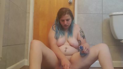 Disabled Girl Plays With New Toy