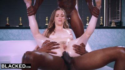 ebonyED -  This bored wife found what she needed with two BBCs