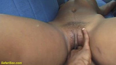 Preview 2 of African Fetish Teen Backseat Fisted