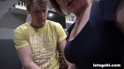 Preview 5 of Stepmom Taught Us How To Bi