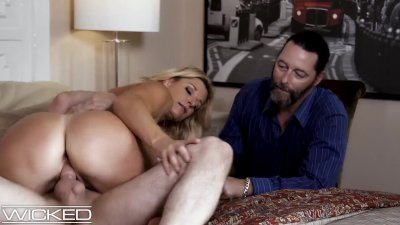 Husband Watches Wife Get Pounded By His Friend - WickedPictures