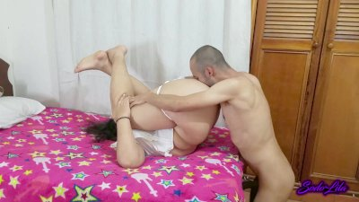 Skinny man gives anal orgasms to his chubby girlfriend - Sodo and Lila